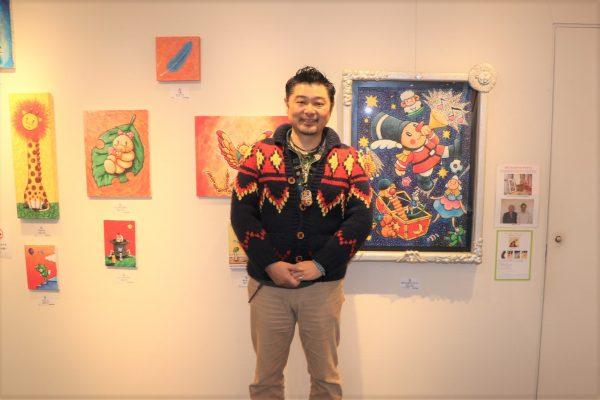 癒しとパワーに満ちた童画展 イラストレーター徳治昭さんの2020年は ...