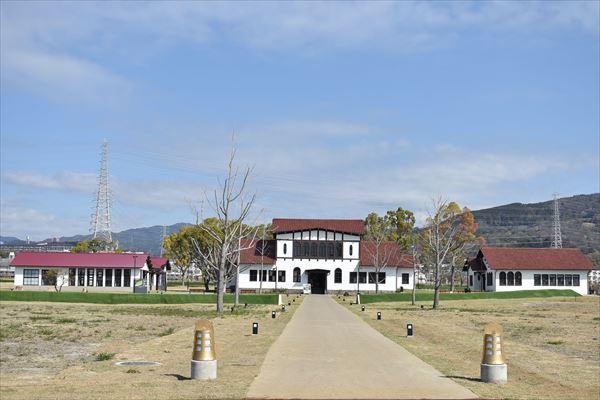旧京大大学院の建物群